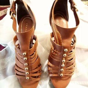 Ivanka Trump Studded Strappy Heels